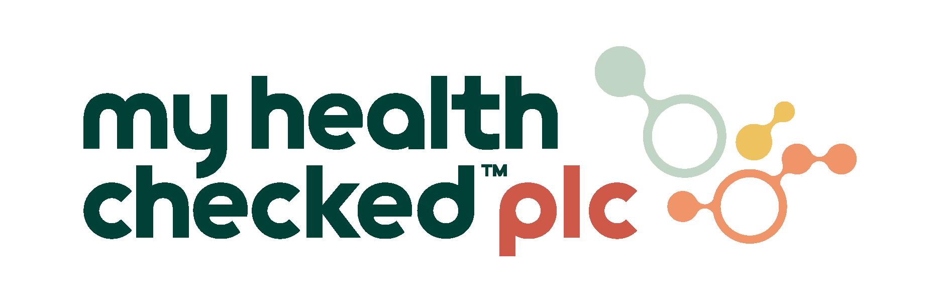 MyHealthChecked Plc Logo