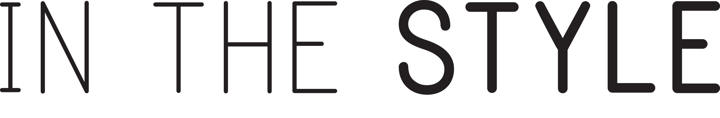IN THE STYLE GROUP PLC Logo