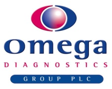 OMEGA DIAGNOSTICS GROUP PLC Logo